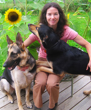 Denise O'Connor, CVT at the Hardwick Veterinary Clinic, Vermont