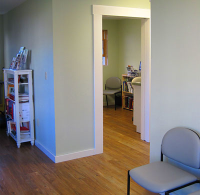 Hardwick Veterinary Clinic office